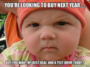 You're looking to buy next year.....
