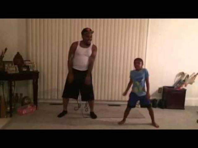 Watch as this Father and Daughter duo perform the cutest dance routine ever!