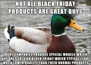 Not all Black Friday products are great buys