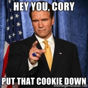 Hey you, Cory