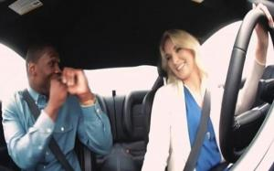 Ford pranks unsuspecting men by setting them up on a date with a professional stunt driver.