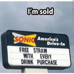 I'm sold