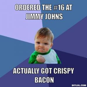 Ordered the #16 at Jimmy Johns