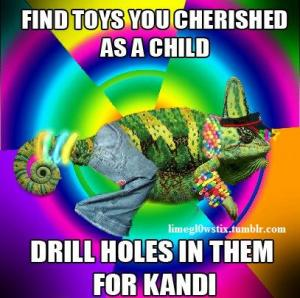 Find toys you cherished as a child