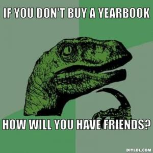 If you don't buy a yearbook
