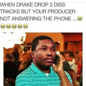 When Drake drop 2 diss tracks but your producer not answering the phone...