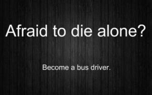 Afraid to die alone? 