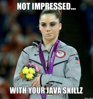 Not impressed...