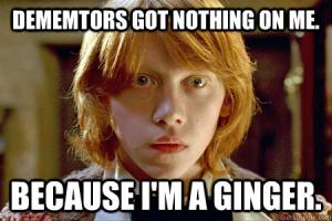 Dememtors got nothing on me.
