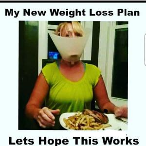 My new weight loss plan