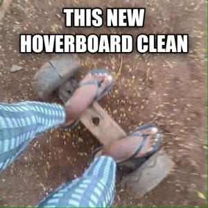 This new hoverboard clean