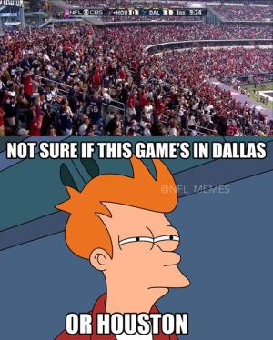 Not sure if this game's in Dallas