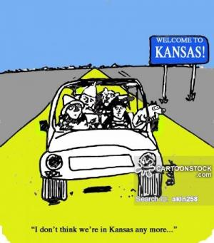 """I don't think we're in Kansas any more..."""