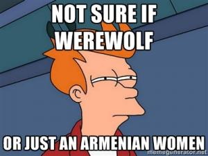 Not sure if werewolf 
