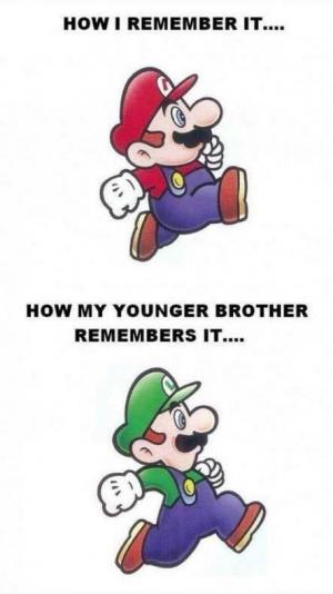 How I remember it....