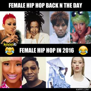 Female hip hop back n the day