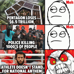 Pentagon loses $6.5 trillion