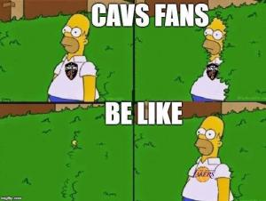 Cavs fans
