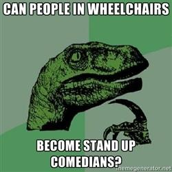 Can people in wheelchairs