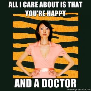 All I care about is that you're 