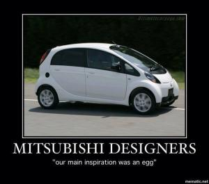 Mitsubishi designers