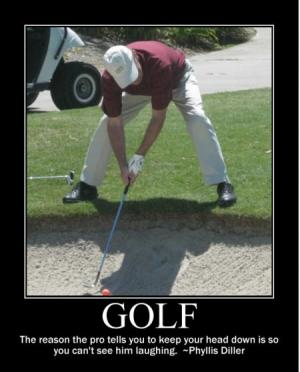 Funny Golf Posters